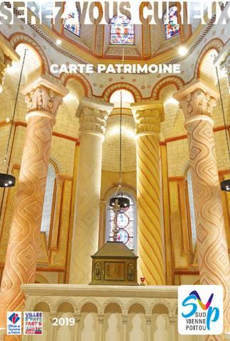 Carte Patrimoine Sud Vienne Poitou