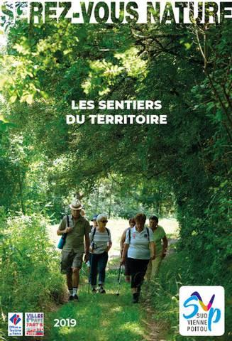 Carte Randonnées  Sud Vienne Poitou