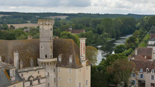 Abbey of Saint Savin in Sud-Vienne-Poitou