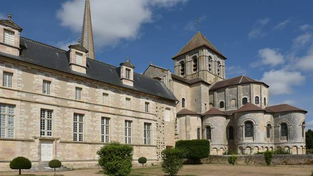 Abbaye de Saint Savin en Sud Vienne Poitou