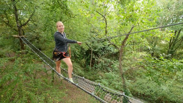 Parcours aventure en Sud Vienne Poitou