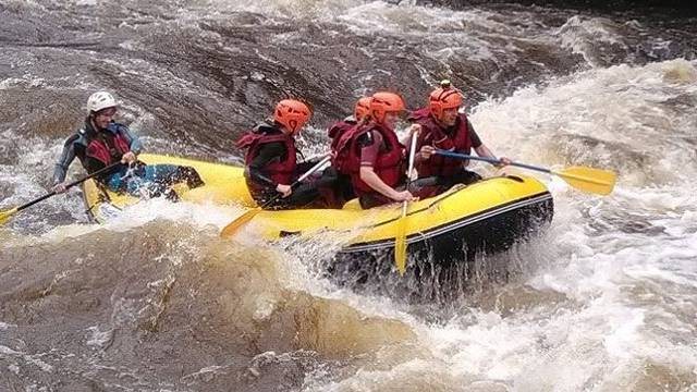 Rafting in Sud-Vienne-Poitou