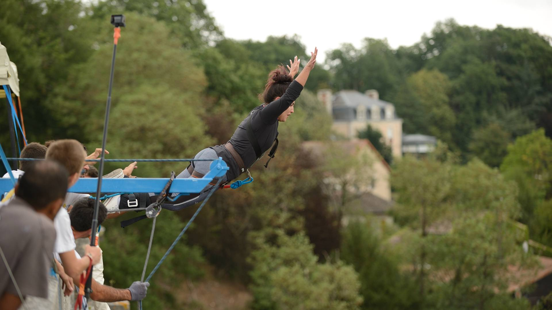 Bungee jumping in Sud-Vienne-Poitou