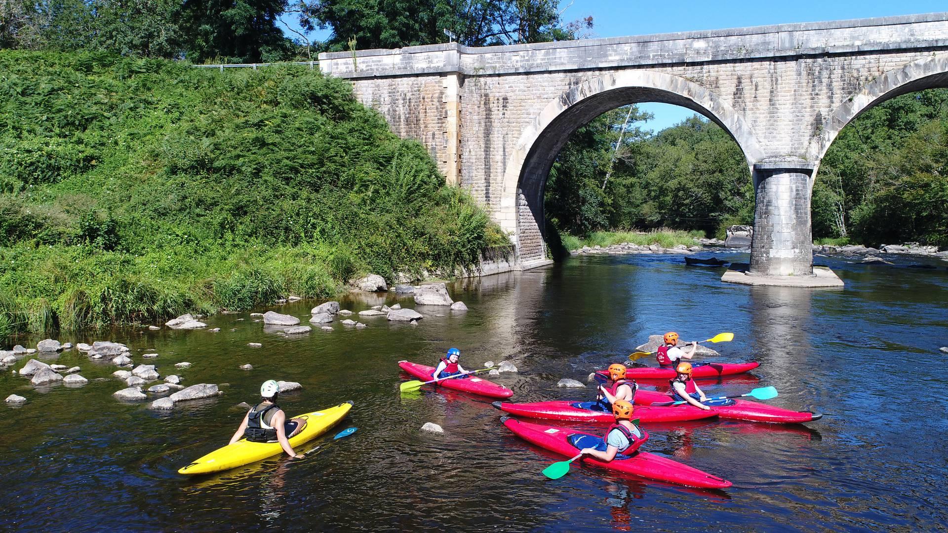 Canoë Kayak en Sud Vienne Poitou