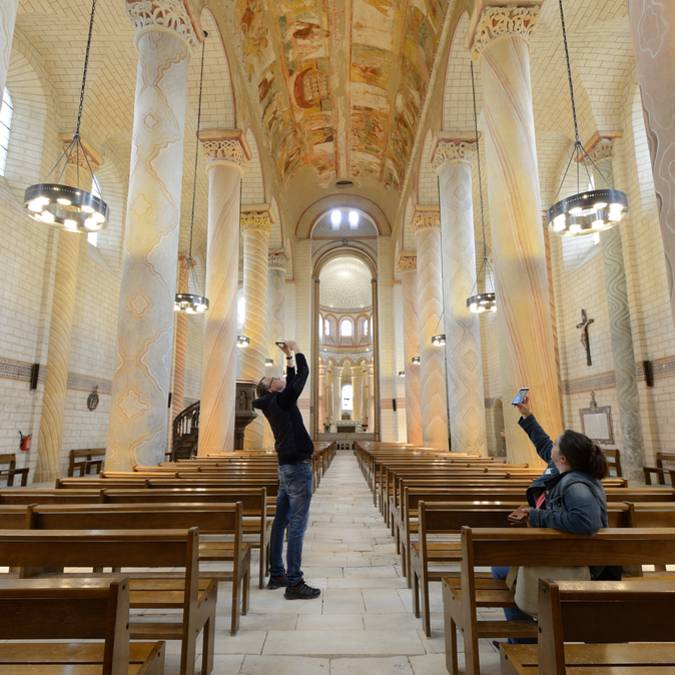 Abbaye Saint-Savin en Sud Vienne Poitou