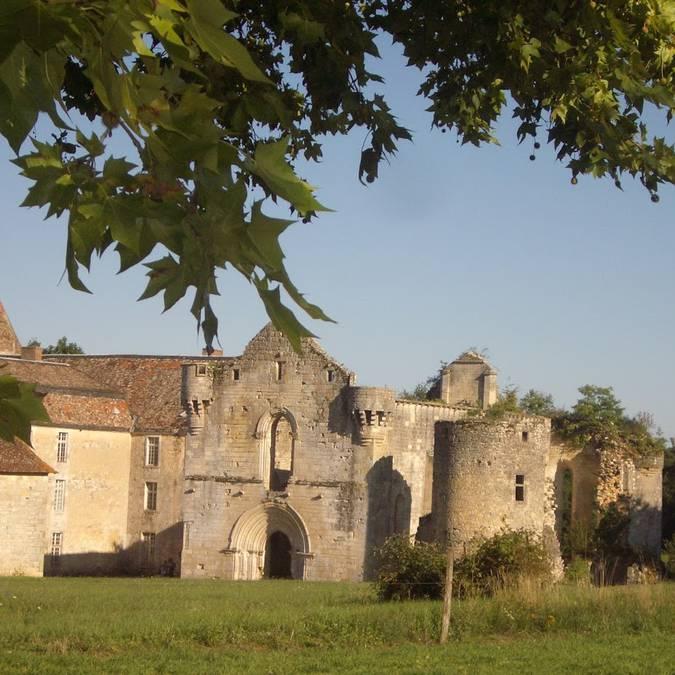 Abbaye de la Réau en Sud Vienne Poitou