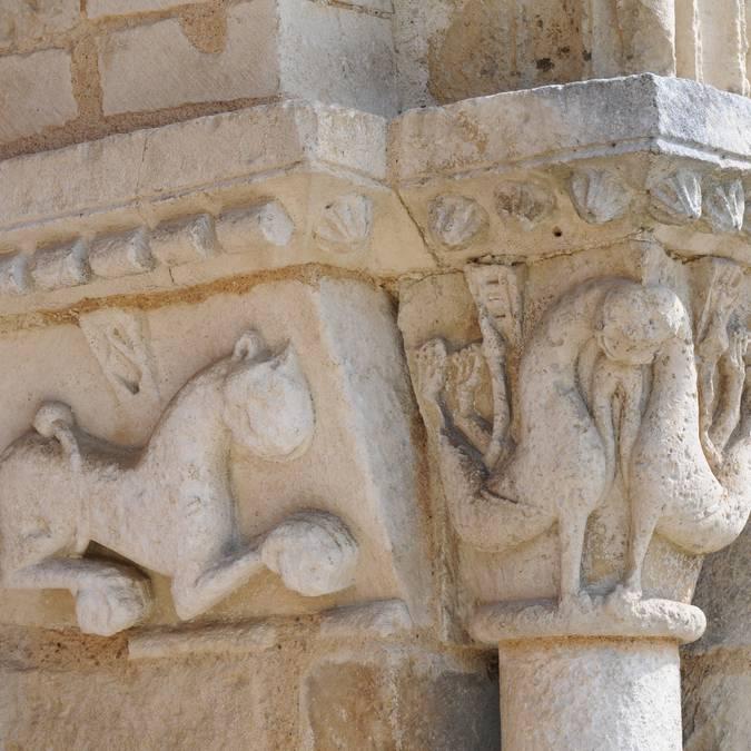 Eglise Usson-du Poitou en Sud Vienne Poitou
