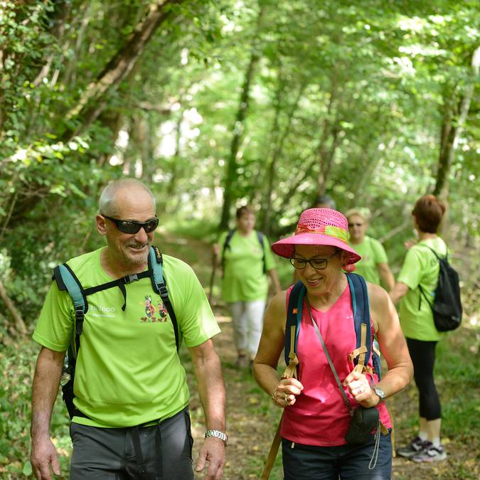 Hiking trail in Sud-Vienne-Poitou