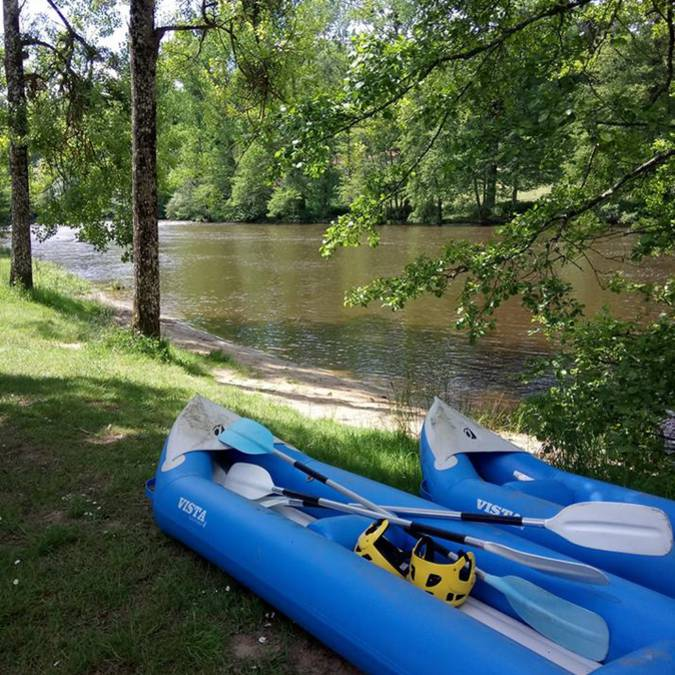 Rafting en Sud Vienne Poitou